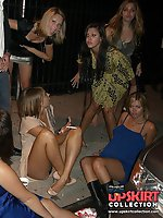 12 pictures - The girls never notice to get upskirt naked spied